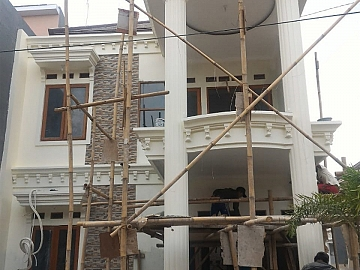 Pembangunan Rumah Tinggal di Bintaro