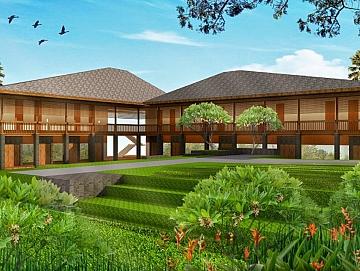 Villa  di Puncak Bogor
