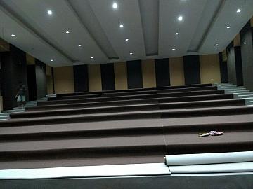 Pekerjaan Interior Kedap Suara Gedung Theatre Kampus KKP