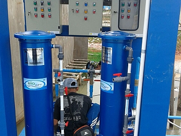 Pekerjaan Instalasi Pemyaringan Air Tanah Siap Minum