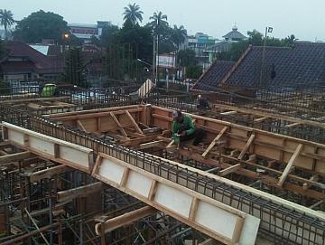 Pekerjaan Proyek Lantai 5 di Bogor
