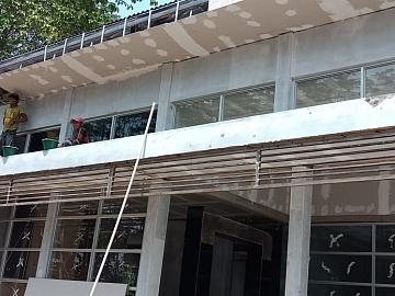Pekerjaan Pemasangan Plafond Gypsum