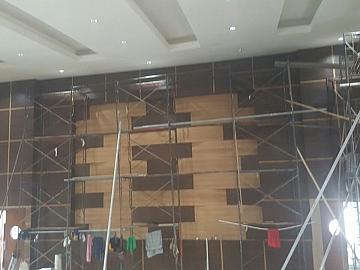 Pekerjaan Backdrop Kedap Suara Gedung Theatre Kampus KKP